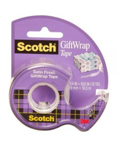 SCOTCH 15L GIFTWRAP TAPE,19mmx16mt