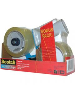 SCOTCH BPS-1 TAPE DISPENSER,Packaging Combo 48mx50mt