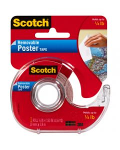 SCOTCH MOUNTING TAPE,109 Removable Poster,1.9cm x 3.8m