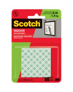 SCOTCH MOUNTING TAPE,111P Indoor Squares,2.5cm x 2.5cm