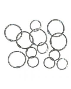 ESSELTE HINGED RINGS,No.6 25mm