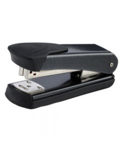 REXEL STAPLER MATADOR,Half Strip,Black