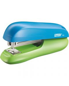 RAPID STAPLER F6,Half Strip,Blue / Green