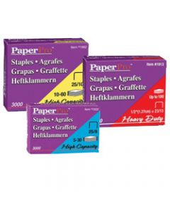 PAPERPRO STAPLES HEAVY DUTY,23/13 100 Sheet Capacity,Box of 1000