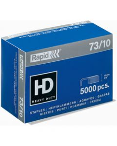 RAPID STAPLES HEAVY DUTY,73/10 Super Strong,Box of 5000