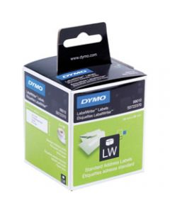 DYMO LABELWRITER LABELS,Paper Address 28x89mm 30251,Box of 260 White