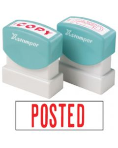 XSTAMPER STAMP CX-BN 1047,POSTED RED