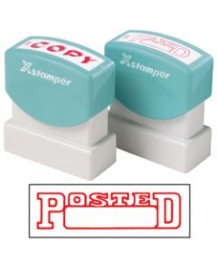 XSTAMPER STAMP CX-BN 1211,POSTED DATE RED