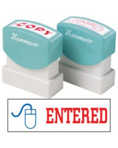 XSTAMPER STAMP CX-BN 2027,ENTERED WITH ICON