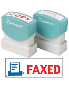 XSTAMPER STAMP CX-BN 2023,FAXED WITH ICON