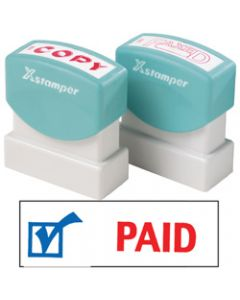XSTAMPER STAMP CX-BN 2024,PAID WITH ICON
