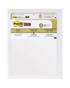 POST-IT SUPER STICKY EASEL PAD,559-RP Recycled,635mm X 775mm
