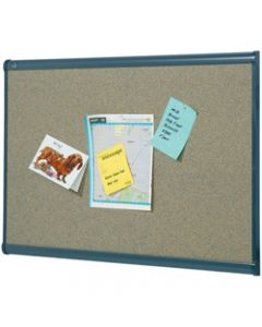 QUARTET PRESTIGE CORK BOARD,1200x900mm Graphite