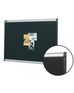 QUARTET PRESTGE BULLETIN BOARD,Alum Frame 900x600mm