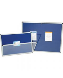 NOBO INTERNAL NOTICE BOARDS,A1 965x665mm Blue