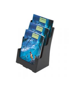 DEFLECT-O BROCHURE HOLDER,Sustainable Office 3 Tier - A4