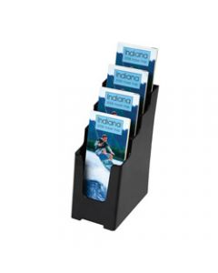 DEFLECT-O BROCHURE HOLDER,Sustainable Office 4 Tier - Dl