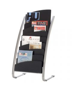 ALBA BROCHURE FLOOR STAND,8 Tier Double