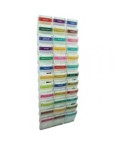 ESSELTE CLIPLOCK WALL SYSTEM,Brochure Holder 36xA5 Pockets