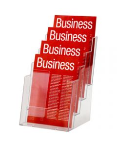 ESSELTE BROCHURE HOLDER,A5 4 Tier Free Standing