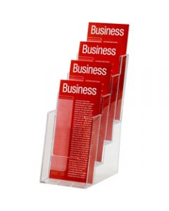 ESSELTE BROCHURE HOLDER,DL 4 Tier Free Standing
