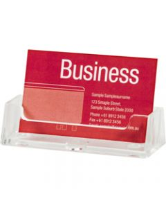 ESSELTE BUSINESS CARD HOLDER,Free Standing Landscape Single