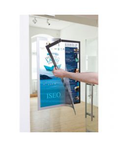 DURABLE DURAFRAME POSTER,A1 Silver
