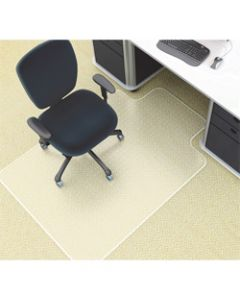 MARBIG CHAIRMAT DELUXE,Small 91x121cm Clear
