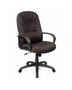 HOUSTON MANAGER CHAIR H/B,Black Fabric