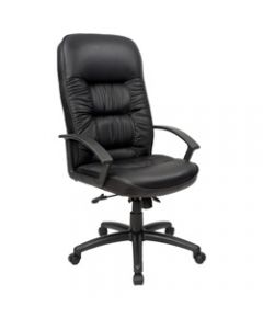 COMMANDER MANAGER CHAIR,High Back PU Black
