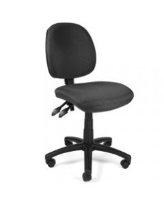 CRESCENT TASK CHAIR,Fabric,Black