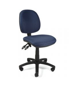 CRESCENT TASK CHAIR,Fabric,Blue