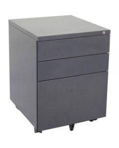 RAPIDLINE MOBILE PEDESTAL 3DR,2 Std 1 Filing Graphite Ripple,W450mm x D472mm x H610mm