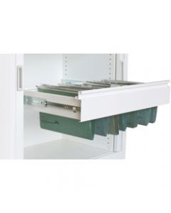 STEELCO FILE FRAME,Pull Out W900 Satin Silver