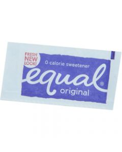 EQUAL SWEETNER PORTIONS,Sachets Pack of 750,Box of 750