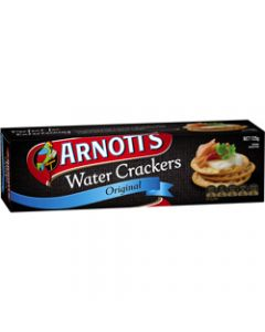 ARNOTTS WATER CRACKERS,Biscuits 125gm