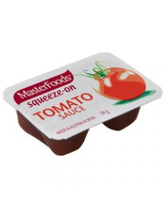 MASTERFOODS TOMATO SAUCE 14GM,Portion Control Pack of 100