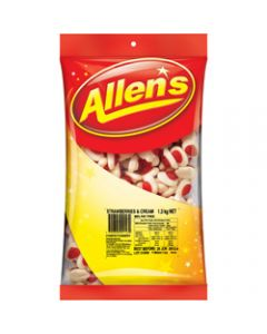 ALLEN'S STRAWBERRIES & CREAM,1.3kg Pack