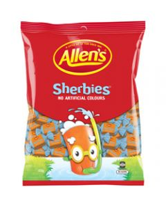 ALLEN'S SHERBIES 850GM PACK,Sherbies