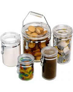 CONNOISSEUR CANISTERS ACRYLIC,Round 810ml