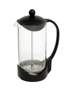 CONNOISSEUR COFFEE PLUNGER,8 Cup Capacity Black