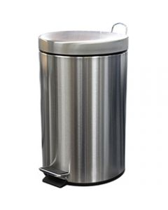 COMPASS STAINLESS STEEL,Pedal Bin 12Litres,