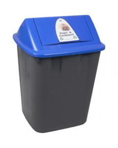 ITALPLAST WASTE SEPARATION BIN,Paper and Cardboard,32 Litres