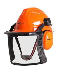 MAXISAFE HARD HAT ACCESSORIES,Maxisafe Forestry Kit,With Mesh Visor & Muffs