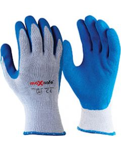 MAXISAFE SYNTHETIC COAT GLOVES,Blue Grippa Glove  Extra Large