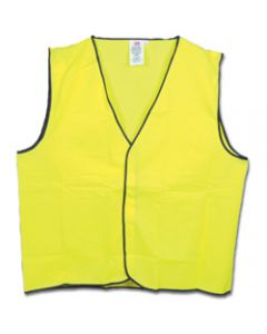 MAXISAFE HI-VIS SAFETY VEST,Day Use Yellow - 2X Large,Class D