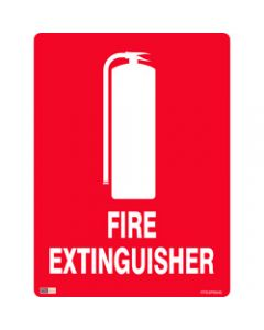SAFETY SIGNAGE - FIRE,Fire Extinguisher,450mmx600mm Polypropylene