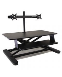 ELEVAR MAXISHIFTX W DUAL ARM,Sit to Stand Module with Arm,Frees Up Worksurface