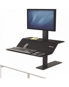 FELLOWES LOTUS VE SINGLE,Monitor Sit Stand Workstation