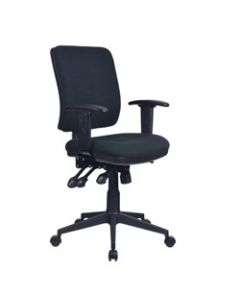 AVIATOR ERGONOMIC CHAIR,With Arms,Ratchet back with Seat Slide